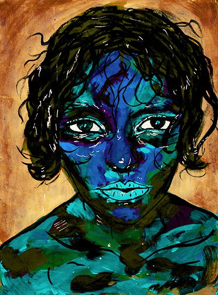 Self Portrait Gouache 2017 edit 2_450